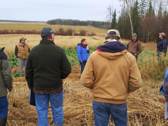 2015 - BC Forage Council Innovative Forage Production Field Tour