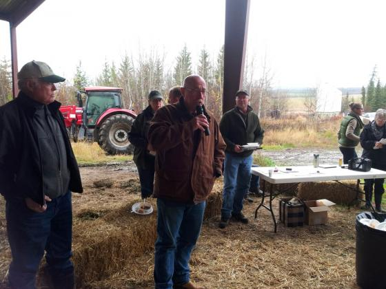 2015 -BC Forage Council Innovative Forage Production Field Tour